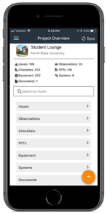 Bring the entire project database to the job site on your device